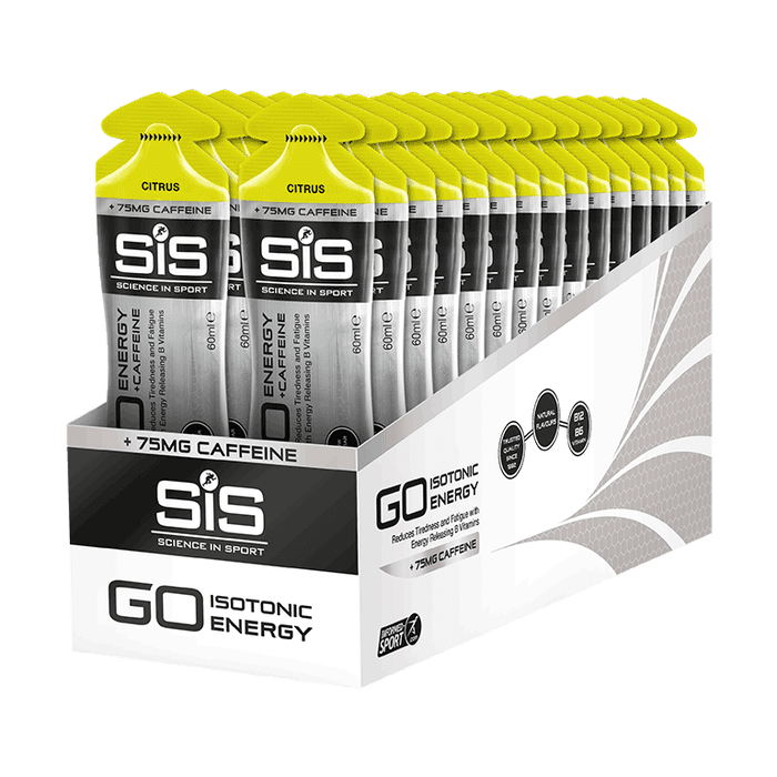 Gel Go Plus Caffeine SIS Citrus 60ml Por Caja