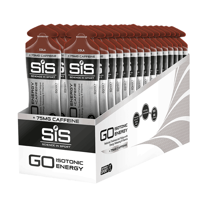Gel GO Cafeina Cola SIS 60ml Por Caja